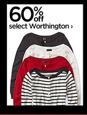 60% off select Worthington ›