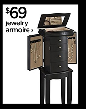 $69 jewelry armoire ›