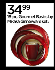 34.99 16-pc. Gourmet Basics by Mikasa  dinnerwear set ›
