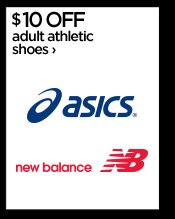 $10 OFF adult athletic shoes ›