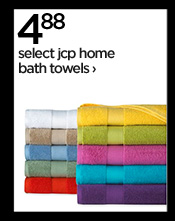 4.88 select jcp home bath towels  ›