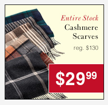 Cashmere Scarves - $29.99 USD