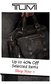 Shop Tumi up to 40% Off