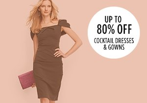 Up to 80% Off: Cocktail Dresses & Gowns