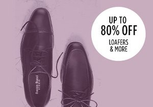 Up to 80% Off: Loafers & More