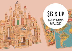 $13 & Up: Family Games & Puzzles