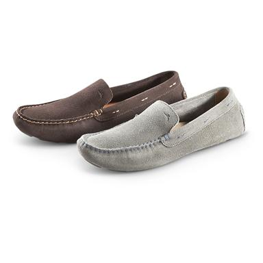 Men's Tommy Bahama® Pagota Suede Driving Moccasins