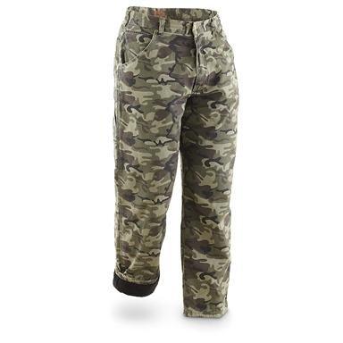 Marino Bay® Fleece-lined Canvas Pants