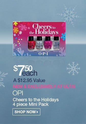 OPI 4 Piece Mini Pack $7.50 - Reg. $12.95