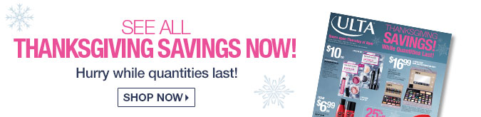 See All Thanksgiving Savings Now!