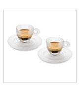Crystal Espresso Cups Set of 2