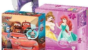 Disney Princesses, Spiderman, Cars