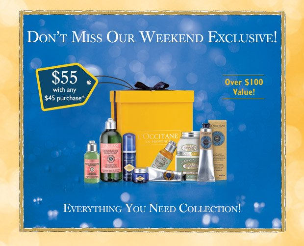 Don't miss our Weekend Exclusive!