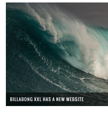 Billabong XXL Has a New Website