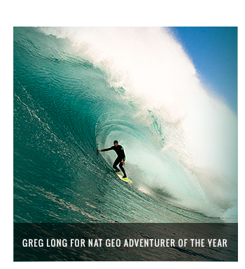 Greg Long for Nat Geo Adventurerer of the year