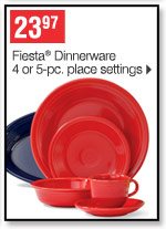 23.97 Fiesta&reg Dinnerware 4  or 5-pc. place settings