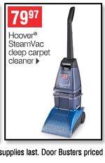 79.97 Hoover&reg SteamVac  deep carpet cleaner