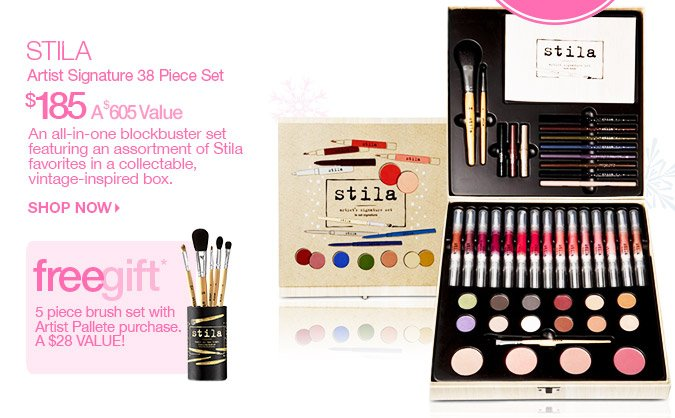Stila Signature 38 Piece Set $185 - A $605 Value
