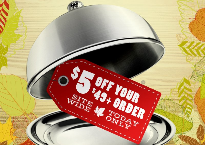 $5 Off Your $49+ Order