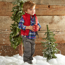 Cozy at the Cabin: Kids' Apparel