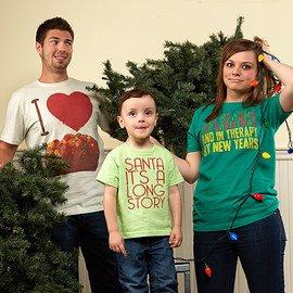 A Funny Family: Holiday Apparel