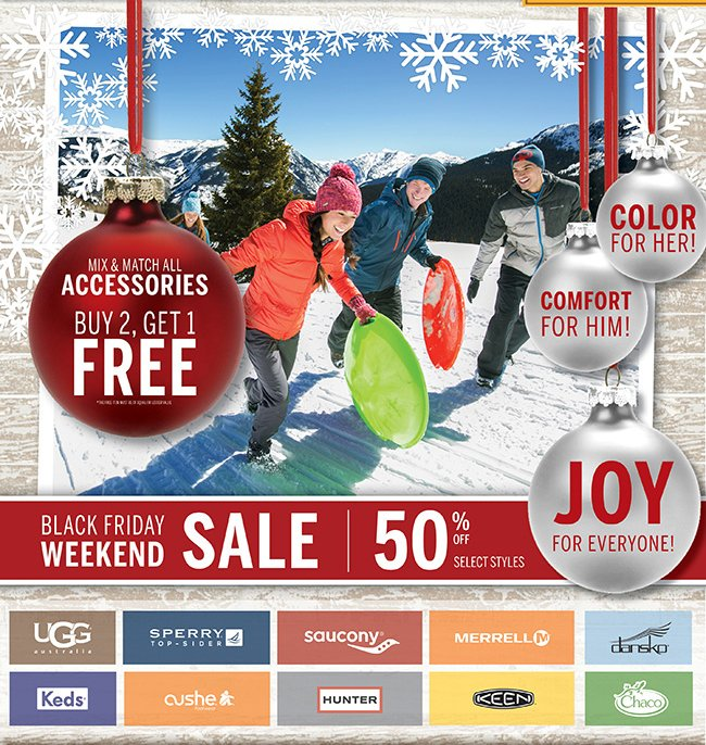 BLACK FRIDAY WEEKEND SALE | 50% Off Select Styles