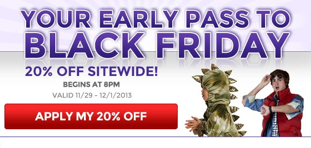 Your Early Pass to Black Friday