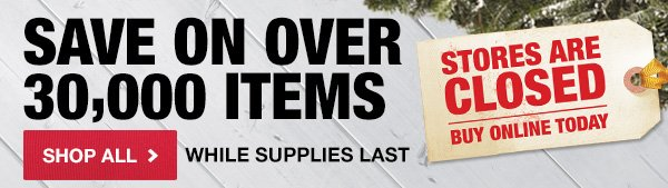 Save on Over 30,000 Items
