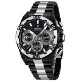 Festina F16660-1 Men's Chrono Bike Black Dial Black IP Steel Quartz Watch
