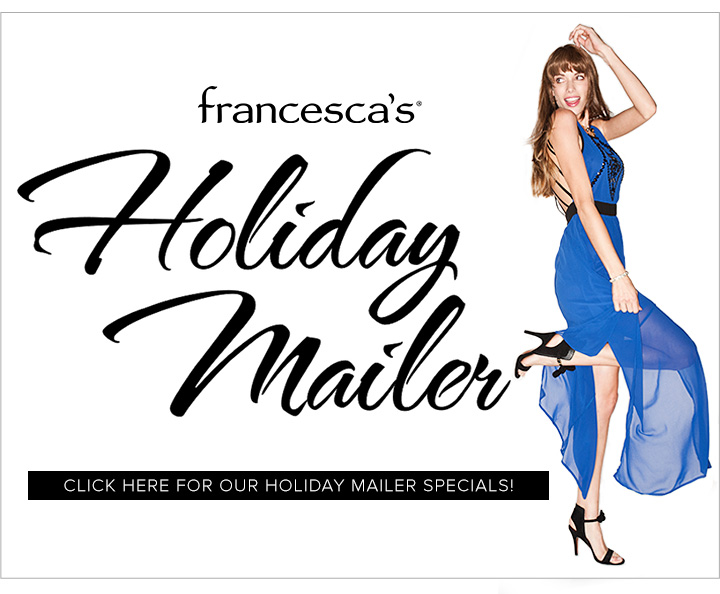 Francesca's Holiday Mailer