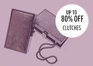 Up to 80% Off: Clutches