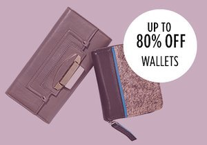 Up to 80% Off: Wallets