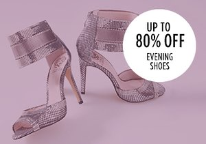 Up to 80% Off: Evening Shoes