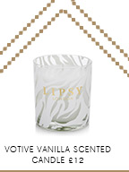 Votive Vanilla Scented Candle