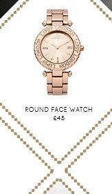 Round Face Watch