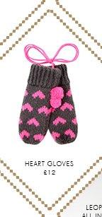 Heart Gloves