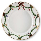 Side Plate, Starfluted Christmas
