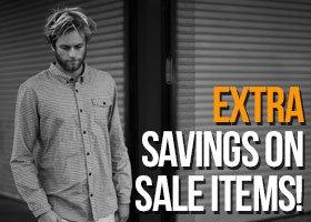 Extra Savings On Sale Items!
