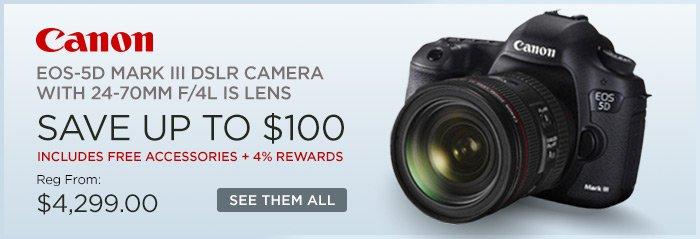 Adorama - Canon EOS-5D Mark III