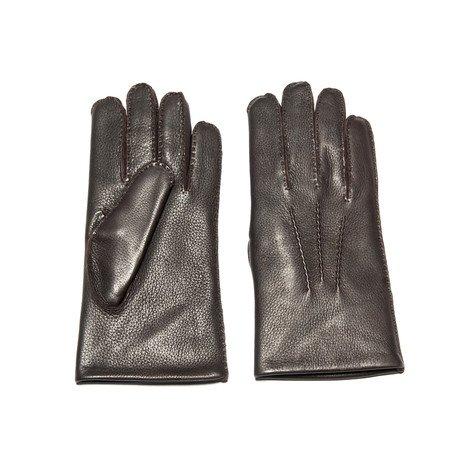 Deerskin Glove With Rabbit Lining