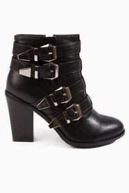 Wicked Buckled Bootie 61