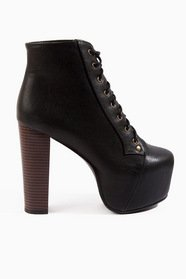 Lexa Lace Up Platform Boots 64