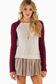 Kristen Contrast Sweater 42