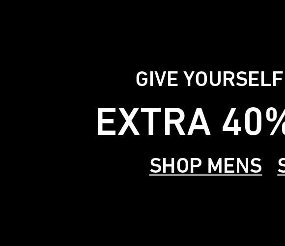Shop Men's Extra 40% Off Sale.