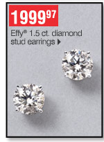 1999.97 Effy 1.5 ct. diamond stud earrings