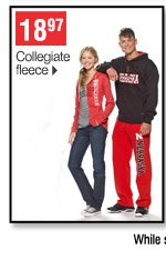 18.97 Collegiate fleece