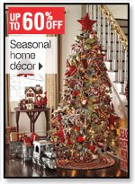 Up to 60% off Seasonal and home decor