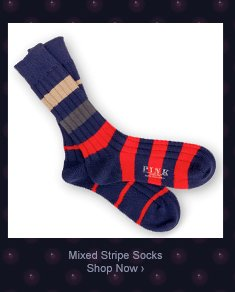 Mixed Striped Socks