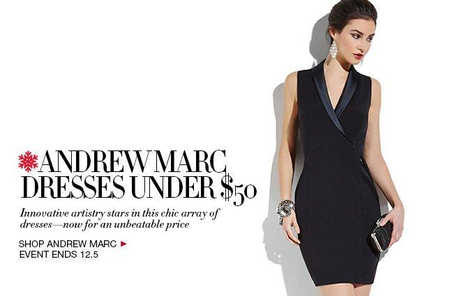 Shop Andrew Marc Dresses Under $50 Women