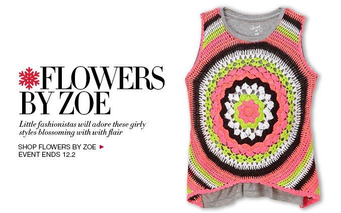 Shop Flowers By Zoe Kids